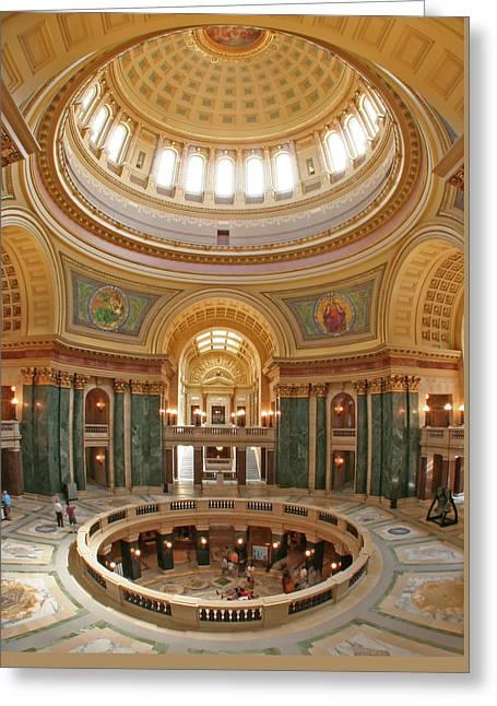 Capitol Rotunda Greeting Card