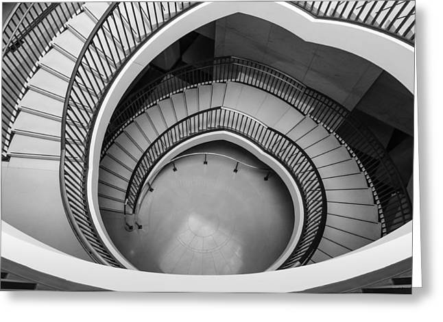 Capitol Stairs Greeting Card