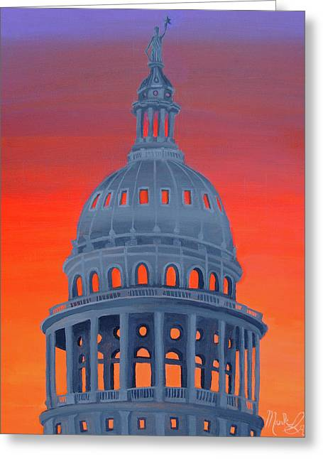 Capitol Warmth Greeting Card