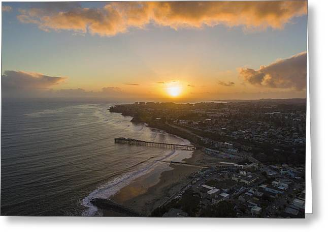 Capitola Dreamin' Greeting Card by David Levy