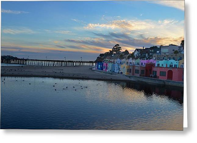 Capitola In October Greeting Card by Alex King