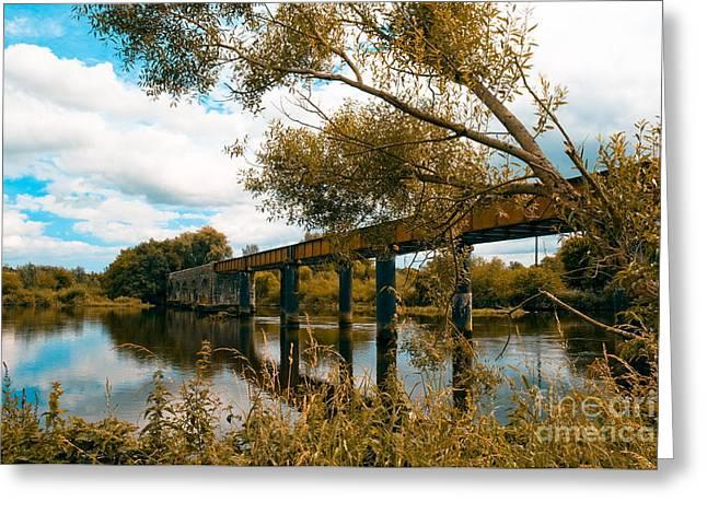 Cappaquin Railway Bridge Greeting Card
