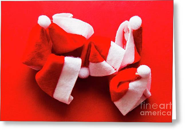 Capping Off A Merry Christmas Greeting Card by Jorgo Photography - Wall Art Gallery