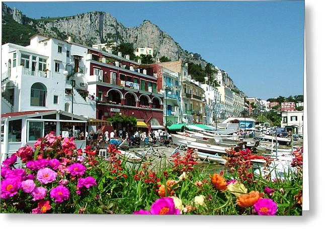 Capri Greeting Card