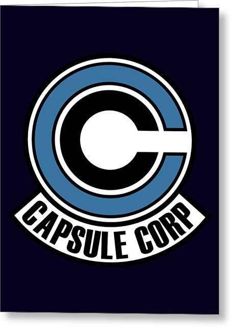 Capsule Greeting Card by Manuel Caro