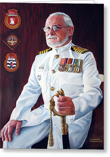 Capt John Lamont Greeting Card