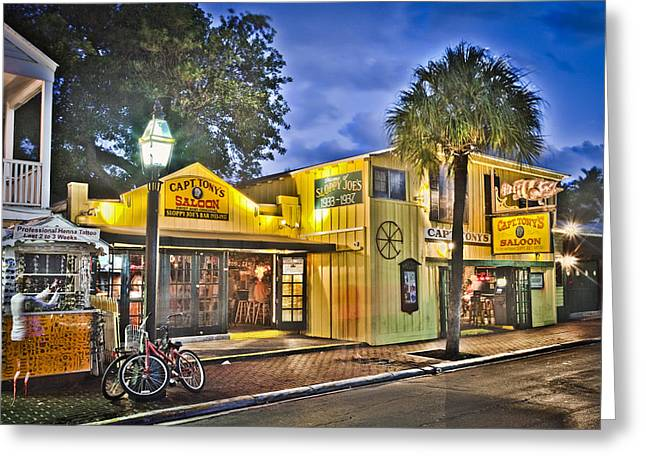 Florida Photography Greeting Cards - Capt. Tonys Greeting Card by Scott Meyer