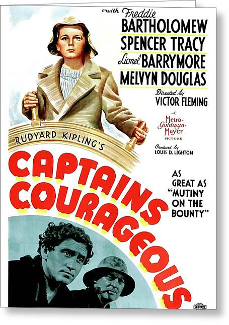 Captain Courageous 1937 Greeting Card