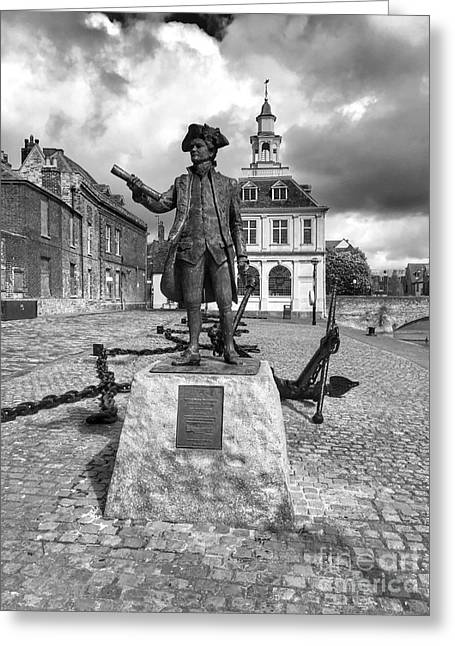 Captain George Vancouver  Greeting Card