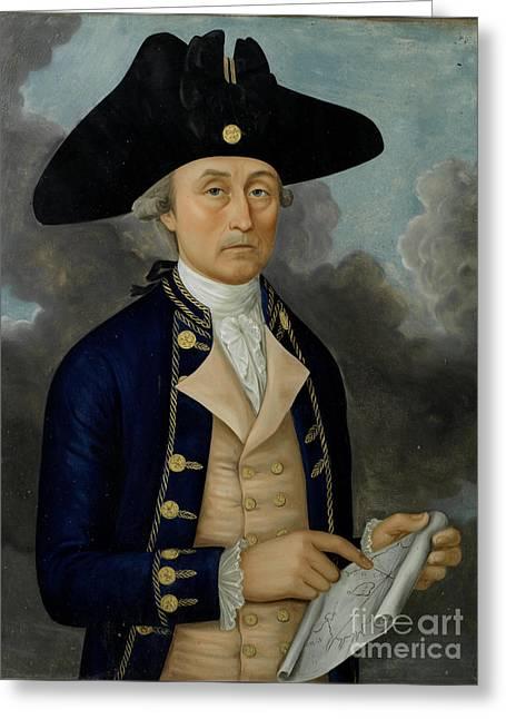 Captain Joseph Huddart Greeting Card