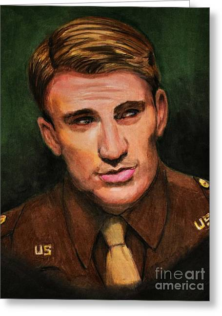 Captain Rogers  Greeting Card by Dwain Morris