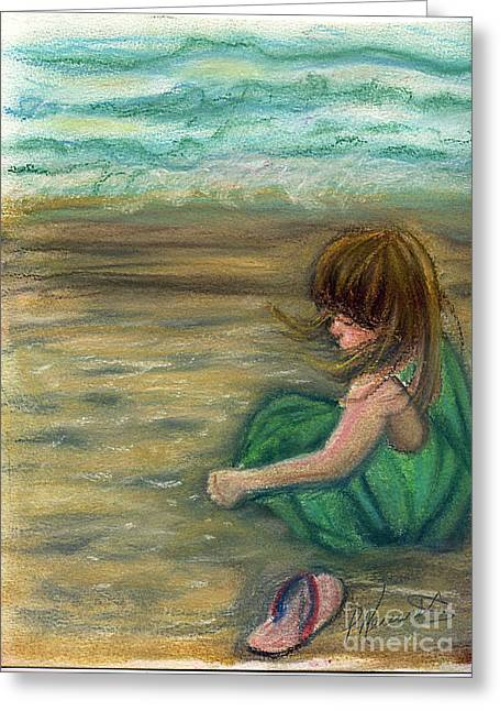Captiva Princess Greeting Card by Patricia Merewether