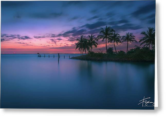 Greeting Card featuring the photograph Captiva Sunset by Francisco Gomez