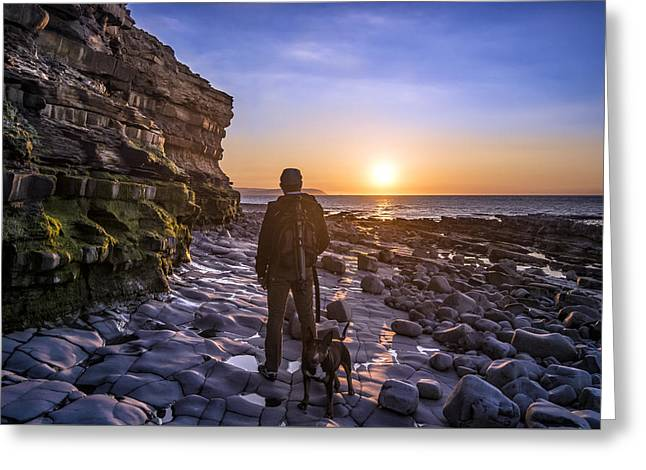 Capture The Moment Greeting Card by William Hole