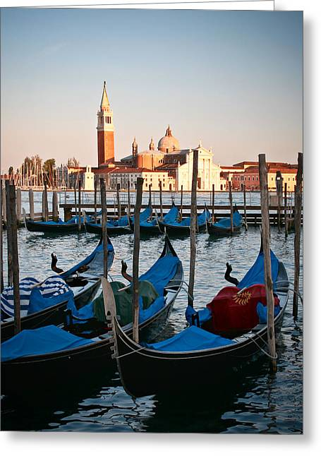 Capturing Venice  Greeting Card by Carl Jackson