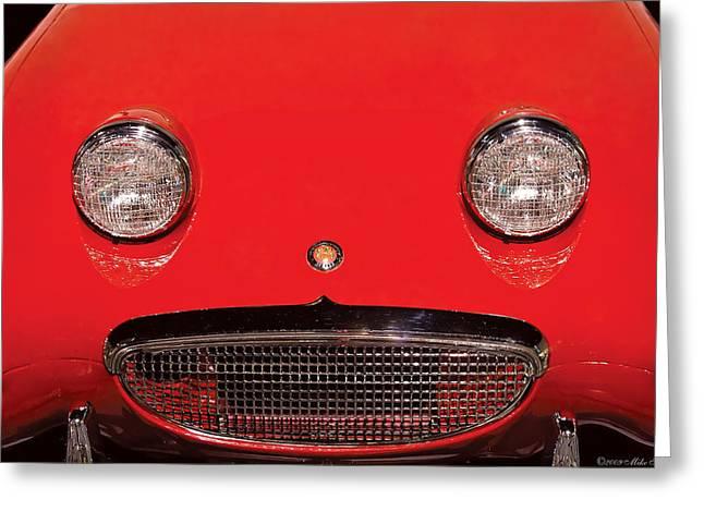 Car - Say Cheese Greeting Card by Mike Savad