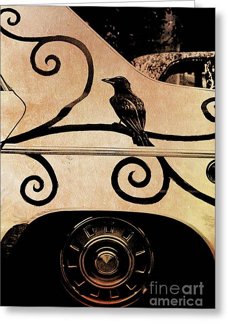 Car Art Greeting Card