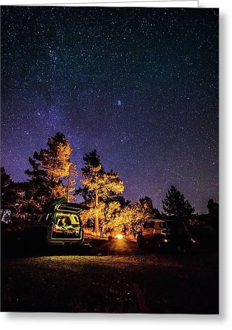 Car Camping Greeting Card