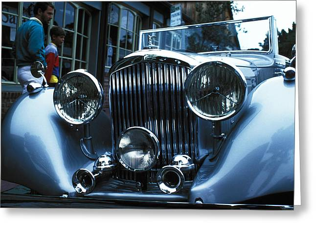 Car Envy Greeting Card by Carl Purcell