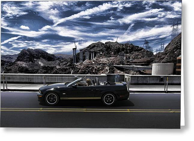 Car Greeting Card by Marco Moscadelli