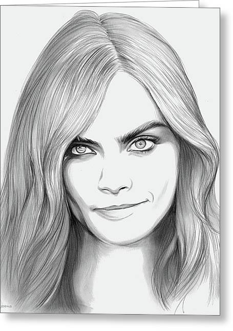 Cara Greeting Card