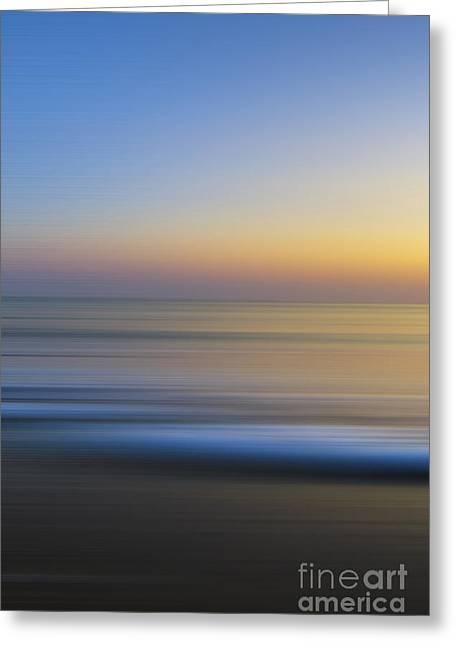 Caramel Dawn - Part 1 Of 3 Greeting Card by Sean Davey