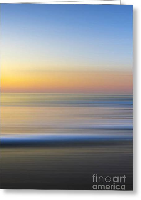 Caramel Dawn - Part 3 Of 3 Greeting Card by Sean Davey