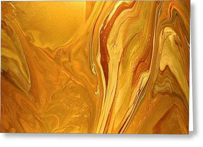 Caramel Delight Greeting Card by Patrick Mock
