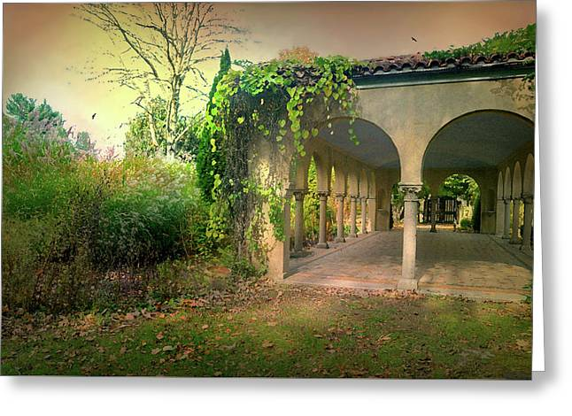 Caramoor Amore Greeting Card by Diana Angstadt