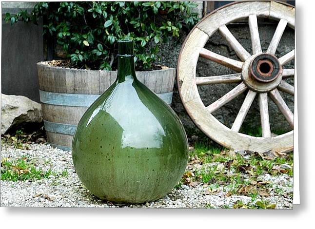 Carboy Greeting Cards - Carboy in Italy Greeting Card by Amie Turrill Owens