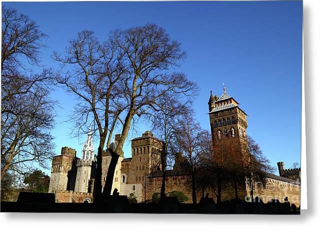 Cardiff Castle Wales Greeting Card