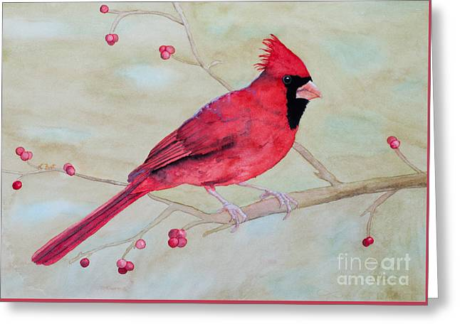 Cardinal II Greeting Card