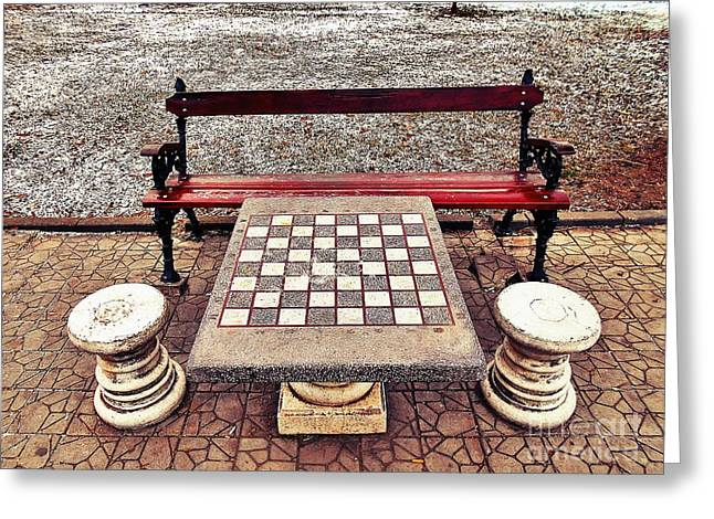 Care For A Game Of Chess? Greeting Card