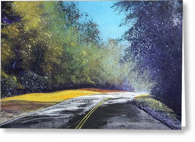 Carefree Highway Greeting Card