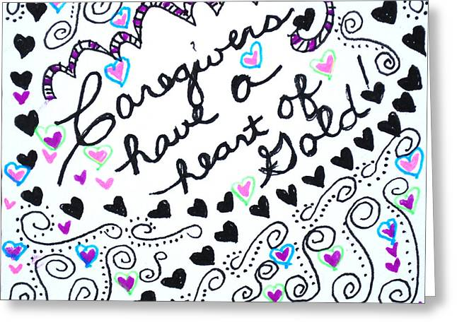 Caregiver Hearts Greeting Card