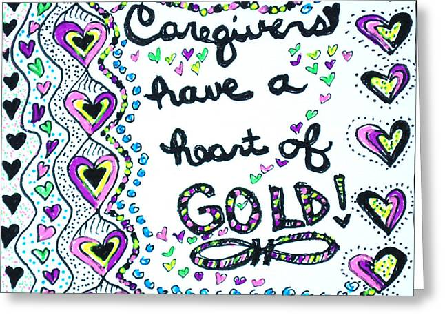 Caregiver Joy Greeting Card