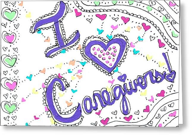 Caring Heart Greeting Card