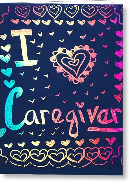 Caregiver Rainbow Greeting Card