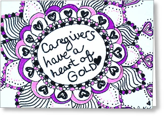 Caregiver Sun Greeting Card