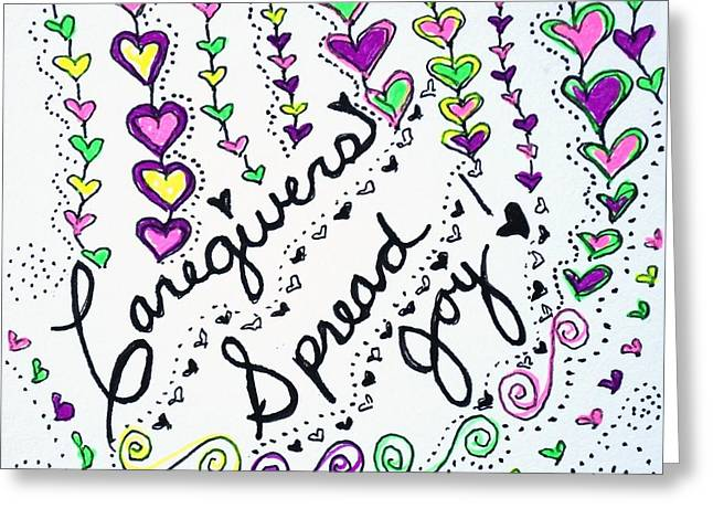 Caregivers Spread Joy Greeting Card