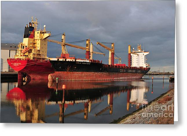 Cargo Fleet Greeting Card