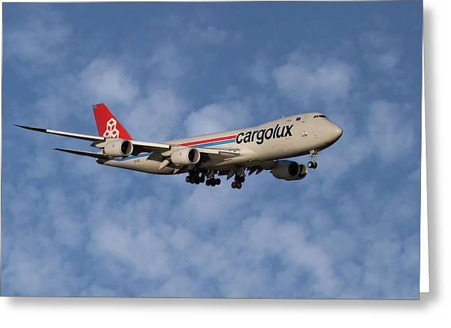 Cargolux Boeing 747-8r7 1 Greeting Card