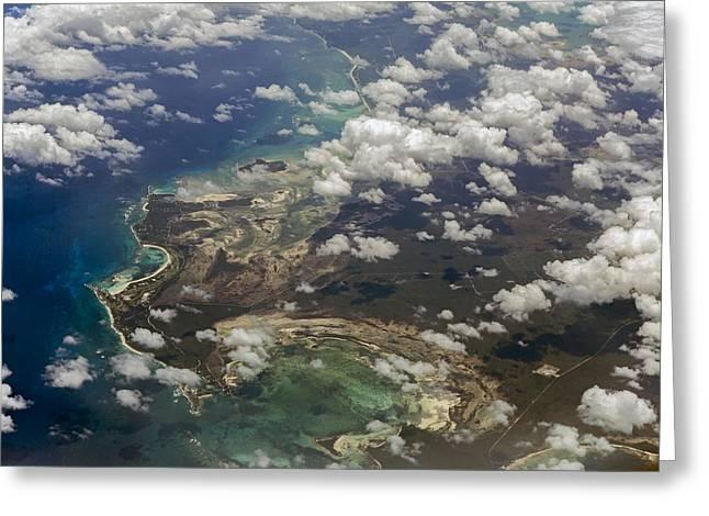 Caribbean Adventure Greeting Card by Betsy Knapp