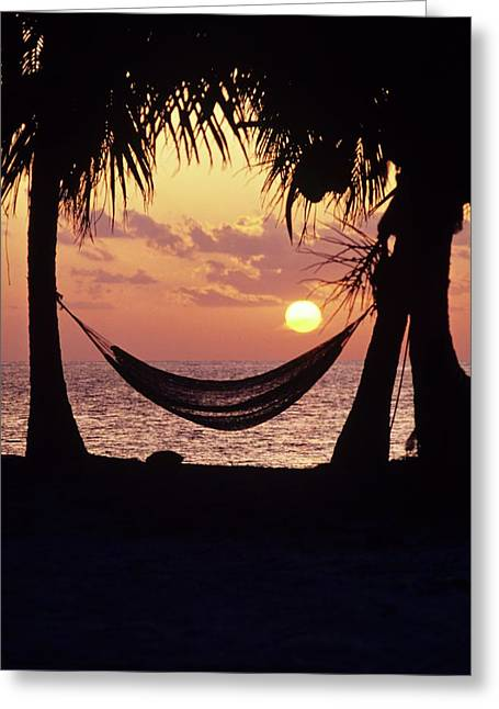 Caribbean Interlude Greeting Card