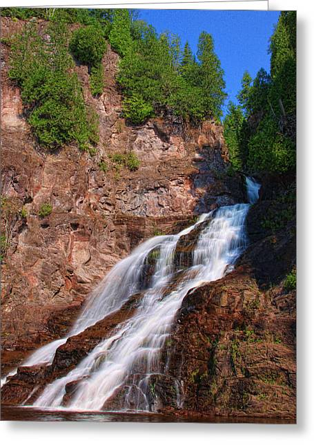 Caribou Falls Greeting Card