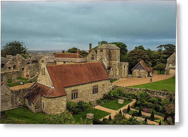 Carisbrooke Castle Isle Of Wight Greeting Card