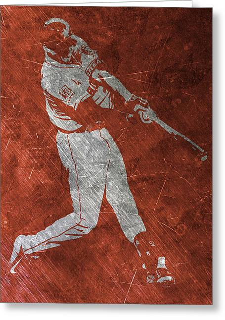Carlos Correa Houston Astros Art Greeting Card by Joe Hamilton