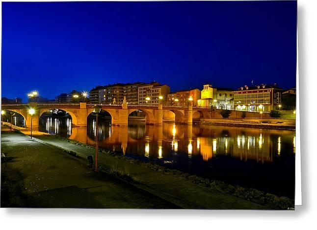 Carlos IIi Bridge Greeting Card by Diosdado Molina