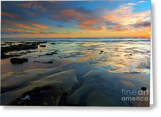 Carlsbad Color Greeting Card by Mike Dawson