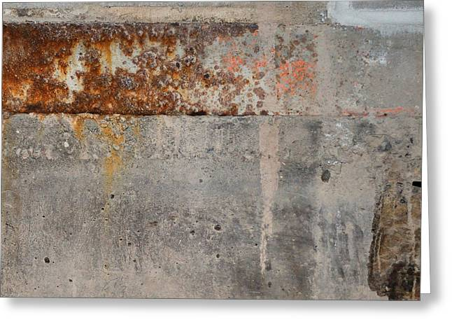 Carlton 16 Concrete Mortar And Rust Greeting Card